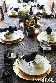 Table Centerpieces Ideas Vampire Halloween Table Decoration