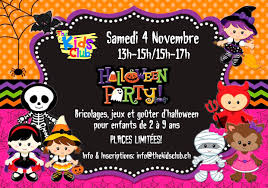 halloween party thekidsclub