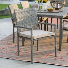 Wicker Patio Dining Chairs by Coral Coast South Isle All Weather Wicker Natural Patio Dining Set