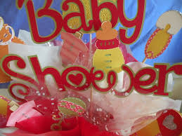 photo inexpensive baby shower table image