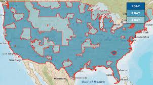 usps class shipping map usps transit map