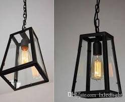 industrial style ceiling lights industrial style diy metal ceiling l buge glass light pendant