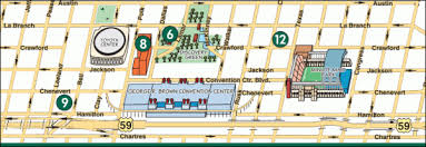 houston map convention center nra annual meeting exhibits may 3 5 in houston daily