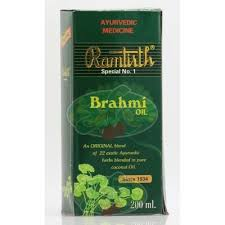 ramtirth brahmi hair oil hair oil
