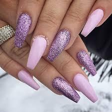 best 25 purple acrylic nails ideas only on pinterest acrylic