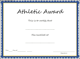 free printable perfect attendance certificate images