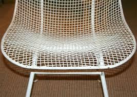 Mesh Patio Furniture White Metal Mesh Patio Table Home Design Charming Outdoor