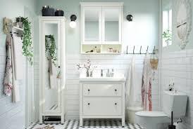 Meuble De Rangement Salle Bain Armoire 1 Miroir Hemnes Série Salle De Bain Ikea