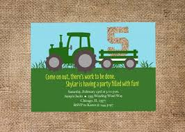 design free tractor party supplies for kids with image unique
