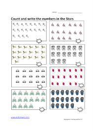kidz worksheets kindergarten counting worksheet15
