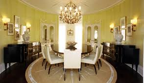 Round Rugs For Dining Room Roselawnlutheran - Area rugs dining room