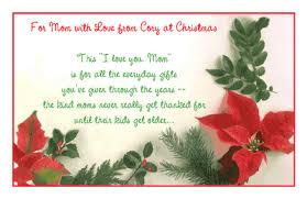 for mom with love greeting card christmas printable card
