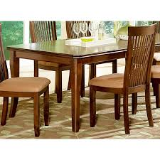 Dining Room Furniture Montreal Montreal 7 Dining Set With Slatted Back Chairs Dcg Stores