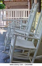 Outdoor Furniture Savannah Ga by Rocking Chairs On A Front Porch In Savannah Georgia Stock Photo