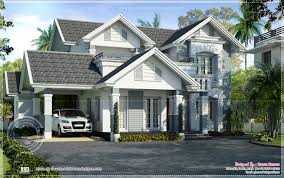 semi european style beautiful villa kerala home design floor