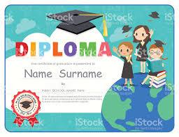 diplomas de primaria descargar diplomas de primaria los niños de escuela primaria graduación diploma certificado