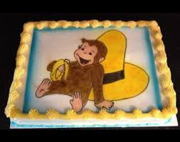 curious george cake topper curious george cupcake toppers curious george cake topper