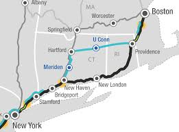 New London Ct Map Massive Rail Plan Leaves Connecticut Hopeful But Mystified The
