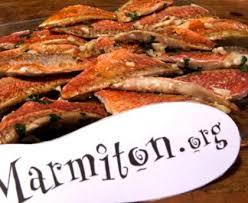 cuisiner rouget filets de rougets marinés recette de filets de rougets marinés