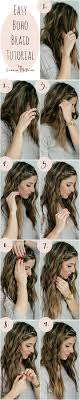 how to i french plait my own side hair 16 boho braid tutorials that will give you cinderella hair for