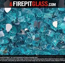 Fire Pit Glass Rocks by Bahama Blue Reflective Nugget Diamond Fire Pit Glass U2013 Fire Pit
