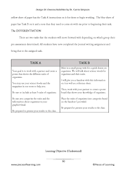 Character Trait Worksheet Design Di How To Differentiate For Overexcitabilities U2013 Pieces Of