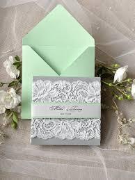 wedding invitation ideas 21 lace wedding invitation ideas weddingomania