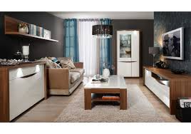 Beleuchtung Beratung Wohnzimmer Wohnzimmer Set Weiss Hochglanz Und Sangallo Eiche Woody 77 00788
