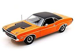 dodge challenger 1970 orange amazon com 2fast 2 furious 1970 dodge challenger 1 18 scale