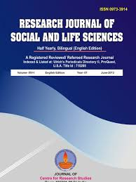 research journal of social and life science volume 14 1