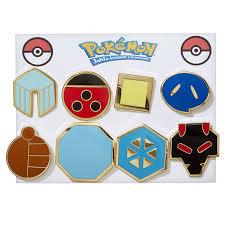 pokemon johto league gym badges pins generation 2 amazon ca