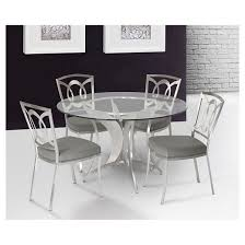 stainless steel dining room tables stainless steel dining table drake modern clear glass armen 11