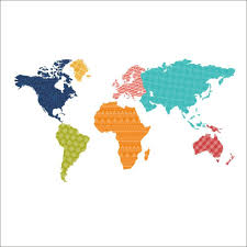 Diy World Map by Aliexpress Com Buy Colorful World Map Wall Sticker Mural Diy