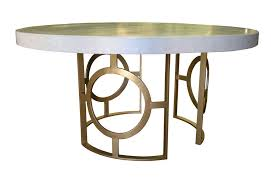 dining and center tables tables contemporary dining table concrete wrought iron