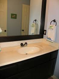 master bathroom rustoleum oil rubbed bronze spray paint update