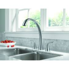 delta faucet 2480 dst pilar polished chrome two handle with