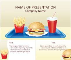 Fast Food Powerpoint Template Templateswise Com Fast Food Ppt