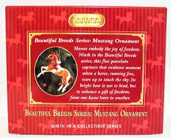 breyer beautiful breeds christmas ornament mustang u2013 triple