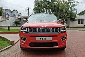jeep modified modified jeep compass front view indian autos blog