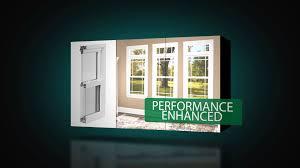 atrium sliding glass doors atrium 8700 series vinyl replacement windows youtube