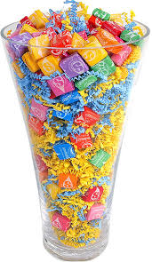 love this idea great for a filler in a candy bouquet using a