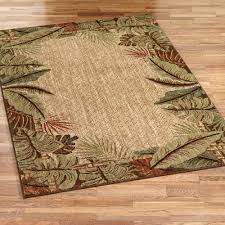 Sizes Of Area Rugs by Pet Friendly Sarasota Tropical Leaf Area Rugs