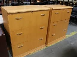 file cabinets atlanta ofs cherry veneer 2 drawer lateral files
