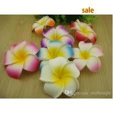 plumeria flowers 2018 wholesale 9cm foam hawaiian plumeria flower frangipani flower