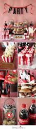cherry coke float cupcakes football party ideas free printables