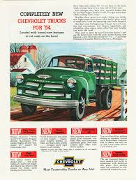 Vintage Ford Truck Advertisements - directory index gm trucks 1954
