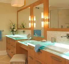 Best Countertop For Bathroom 26 Best Glass Countertops Images On Pinterest Glass Countertops