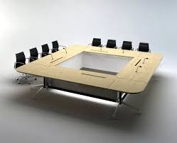 Interactive Meeting Table Collodi Furniture Beijing