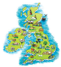 Map Of England And Scotland by Classic British Golf Tours In The Uk And Ireland Classic British