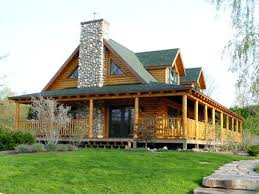 log cabin style modular homes home the wraparound porch